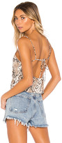 superdown Jenna Backless Tank
