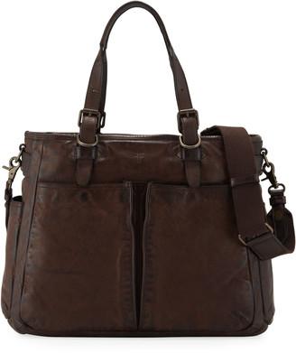 Frye Men's Murray Leather Tote Bag