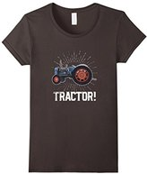 Vintage Tractor Farm Life T-shirt Funny Farmer Agriculture