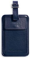 Shinola Leather Luggage ID Tag