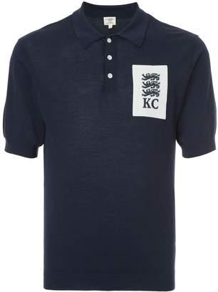 Kent & Curwen lion crest polo shirt