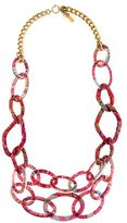 Etro Fabric Chain Necklace