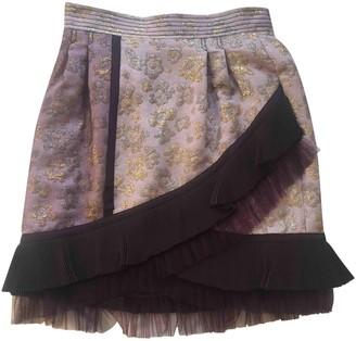 Luella Purple Skirt for Women