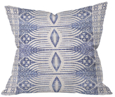 DENY Designs French Linen Tribal Ikat Throw Pillow