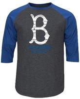 LA Dodgers Men's 3/4 Sleeve Raglan T-Shirt