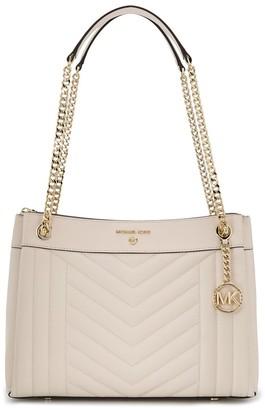 MICHAEL Michael Kors Susan medium quilted shoulder bag