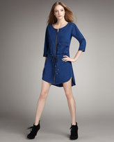 MARC by Marc Jacobs Denim Drawstring Tunic