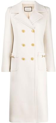 Gucci Horsebit Details Coat