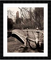 McGaw Graphics Central Park Bridges 2 by Chris Bliss (Framed Print)