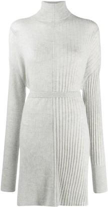 Helmut Lang Roll Neck Dress