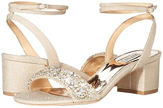Badgley Mischka Jada (Silver) Women's Shoes