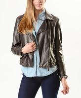 Paparazzi Coco Faux Leather Moto Jacket