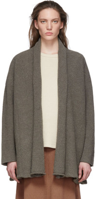 LAUREN MANOOGIAN Grey Short Uzbek Cardigan