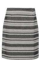 Great Plains Ula Stitch Jersey Jacquard Mini Skirt