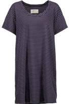 Current/Elliott The Slouchy Striped Cotton-Blend Mini Dress
