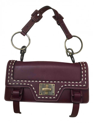 Givenchy Burgundy Leather Handbags
