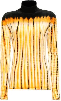 Proenza Schouler Tie-dye turtleneck top