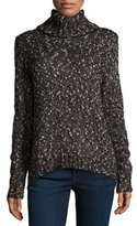 Joie Farika Turtleneck Sweater, Heather Caviar