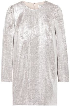 Rachel Zoe Ami Metallic Woven Mini Dress