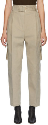 DRAE Khaki Bon Pocket Trousers