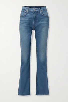 Citizens of Humanity - Net Sustain Libby Organic High-rise Jeans - Mid denim