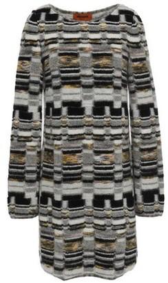 Missoni Brushed Jacquard-knit Mini Dress
