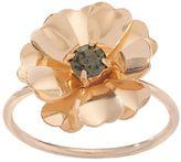 Lauren Conrad Gold Tone Flower Ring