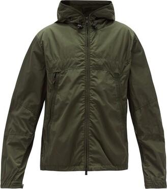 Moncler Technical Zip-through Hooded Jacket - Khaki