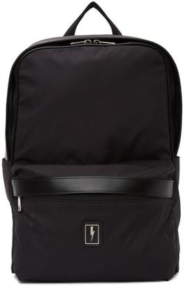 Neil Barrett Black Eco-Leather Backpack