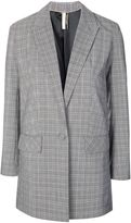 Topshop Check suit jacket