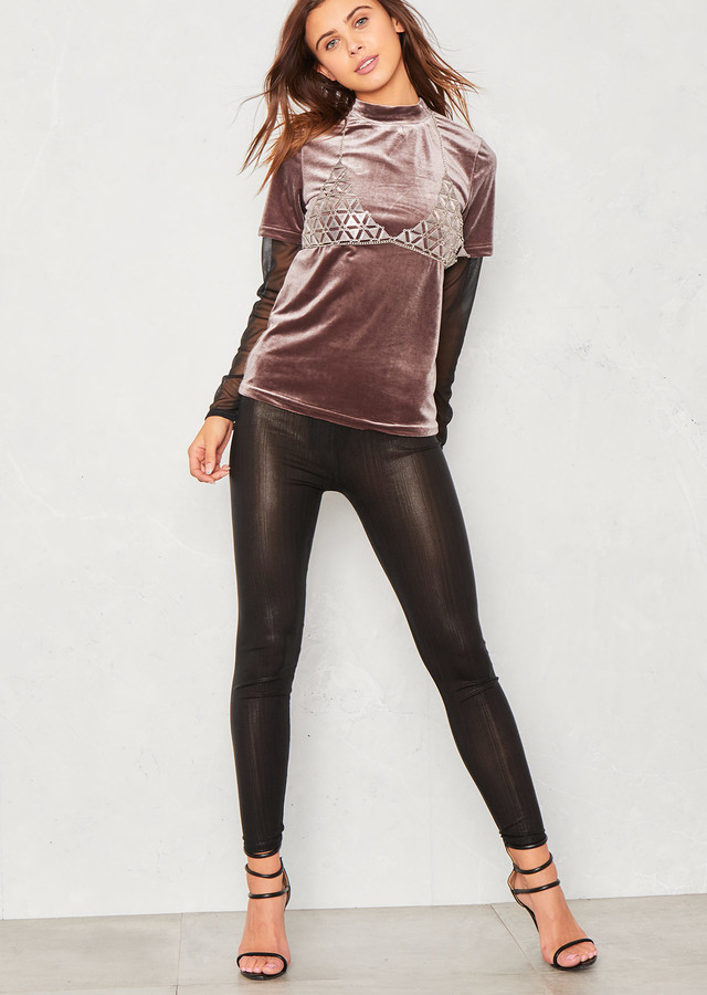 71cefa24c4 Disco Look Leggings - ShopStyle UK