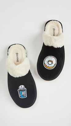 Soludos Coffee + Donut Cozy Slippers