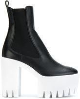 Stella McCartney platform boots - women - Polyurethane/rubber - 37