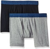 Fruit of the Loom Men's Cotton Stretch Boxer Brief (Pack of 2)-Dup