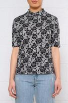 Cheap Monday Lace Print Tee