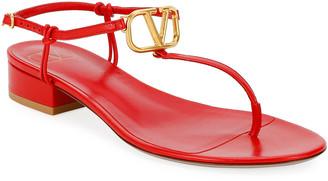 Valentino VLOGO Thong Sandals