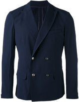 Paolo Pecora double-breasted blazer - men - Cotton/Spandex/Elastane - 46