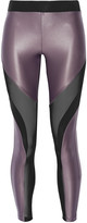 Koral Frame mesh-paneled stretch-jersey leggings