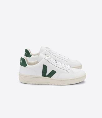 Veja V-12 Leather White Cyprus Sneakers - 36
