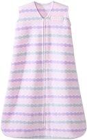 Halo Wave Print Fleece - Pink Wave - Medium