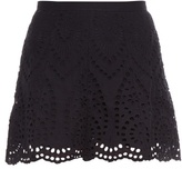 Zimmermann Harlequin broderie-anglaise shorts
