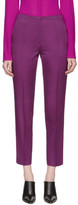 Nina Ricci Purple Cropped Trousers
