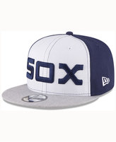 New Era Chicago White Sox Heather Vize 9FIFTY Snapback Cap