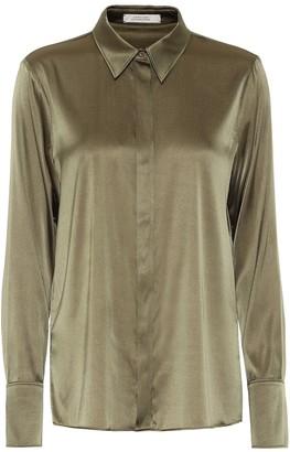 Dorothee Schumacher Sense of Shine satin shirt