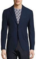 Salvatore Ferragamo Slim-Fit Deconstructed Wool Blazer