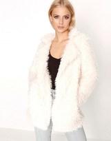 Girls On Film Teddy Faux Fur Coat
