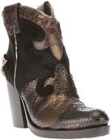Baldan heeled cowboy boot