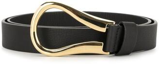 B-Low the Belt Hook Detail Belt