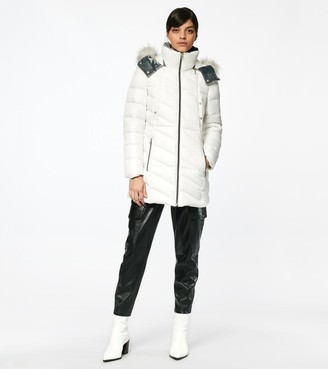 Andrew Marc SHIRLEY SYNTHETIC DOWN PUFFER JACKET
