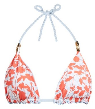 Heidi Klein Reversible Rope Triangle Bikini Top - Womens - Red